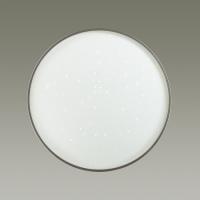 2076/EL SN 027 св-к GETA SILVER пластик LED 72Вт 3000-6500К D490 IP43 пульт ДУ