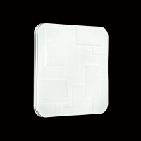2085/DL SN 020 св-к NORES пластик LED 48Вт 3000-6500К 410*410 IP43 пульт ДУ