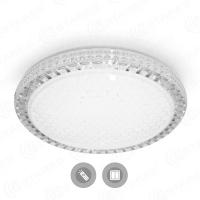 Управляемый светодиодный светильник ESTARES AKRILIKA  SOTA 60W R-540-CLEAR/SHINY-220-IP44
