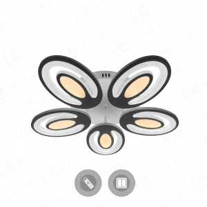 Управляемый светодиодный светильник ELLIPS DOUBLE 120W OV-580-WHITE/WHITE-220-IP20