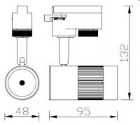 Светильник HL 836L