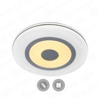 Управляемый светодиодный светильник QUADRON DOUBLE 72W R-550-WHITE-220-IP44