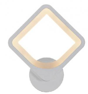 Управляемый светодиодный светильник, бра on/off TETRA 24W S-250-WHITE/WHITE-220-IP20