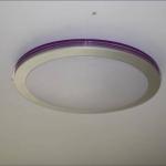 Светильник потолочный MX586 LED Y/Violet