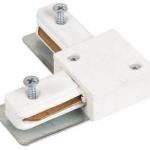 Коннектор угловой к шинопроводу однофазному