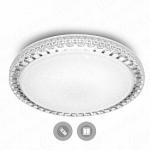 Управляемый светодиодный светильникESTARESAKRILIKASOTA 40W R-405-CLEAR/SHINY-220-IP44