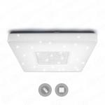 Управляемый светодиодный светильник ESTARES QUADRON SIYANIE 60W S-550-SHINY/CRISTAL-220V-IP44